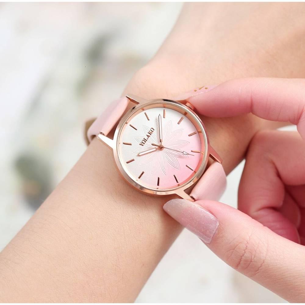 """Женские Часы наручные """"SOXY"""", коричневые 8614"""