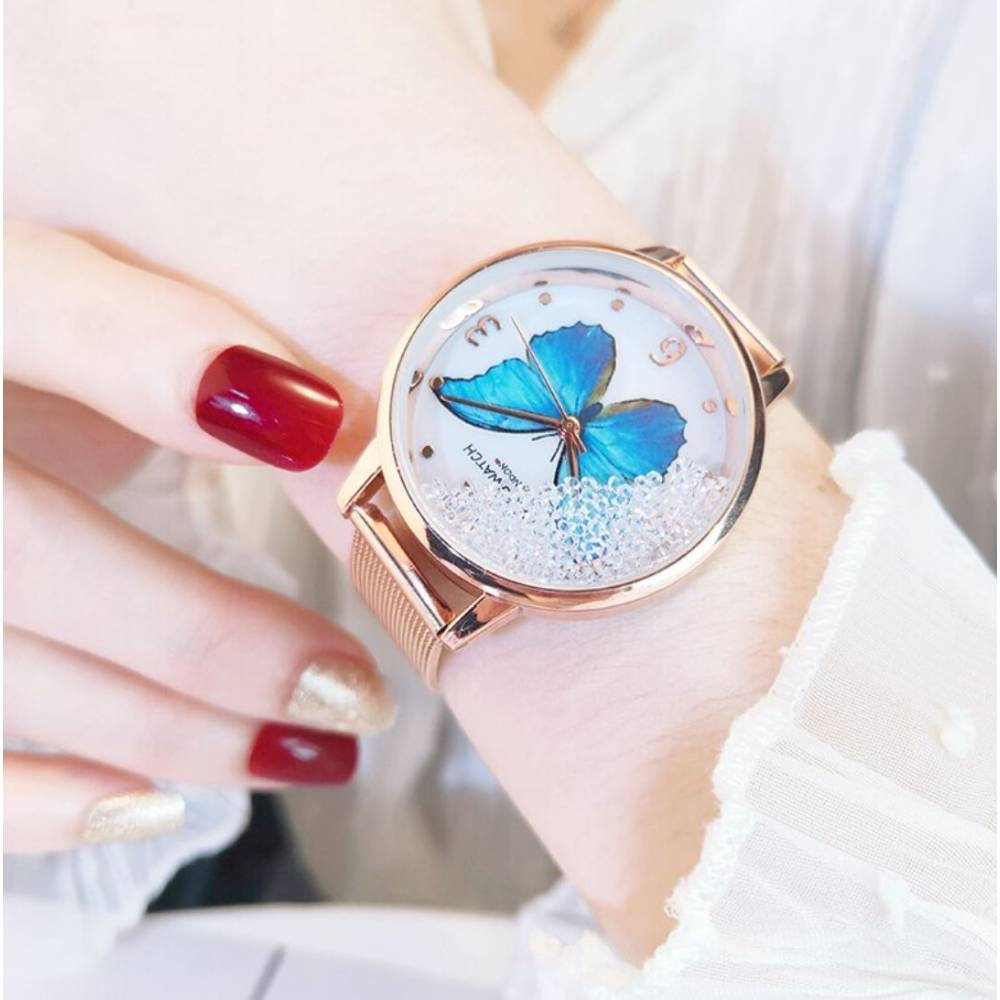 """Женские Часы наручные """"SOXY"""" с бабочкой 8616"""