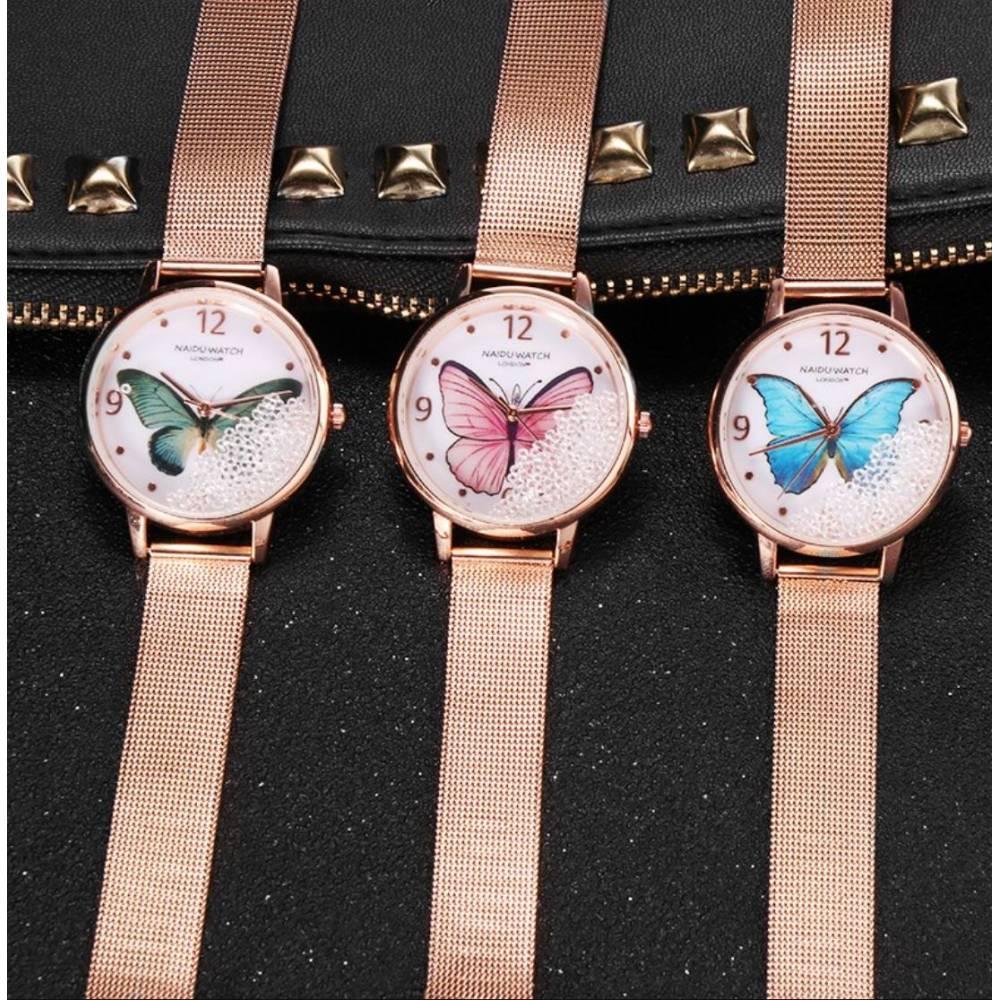 """Женские Часы наручные """"SOXY"""" с бабочкой 8617"""