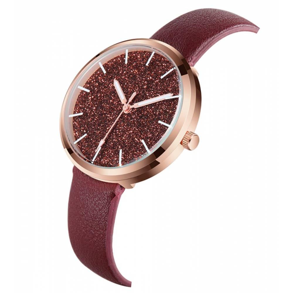 """Женские Часы наручные """"SOXY"""", красные 8623"""