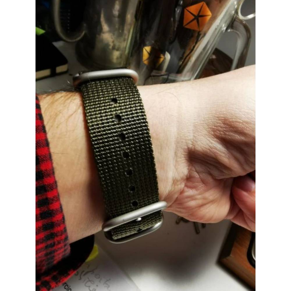 """Ремешок для часов """"FHD"""", черный 8733"""