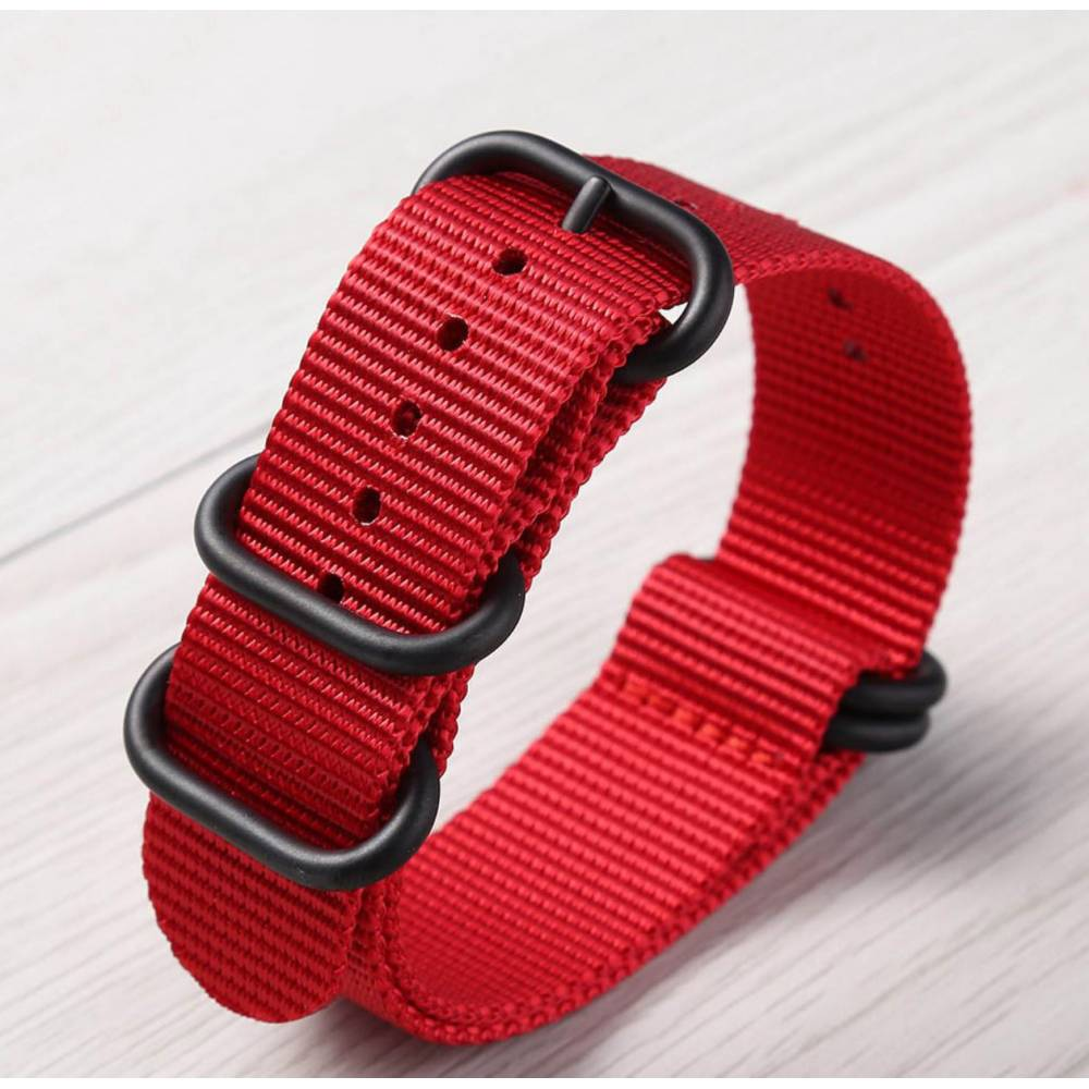 """Ремешок для часов """"FHD"""", красный 8738"""