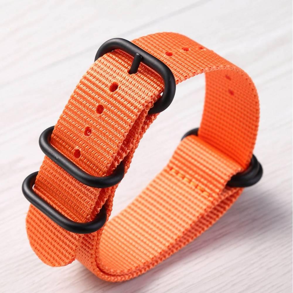 """Ремешок для часов """"FHD"""", оранжевый 8739"""