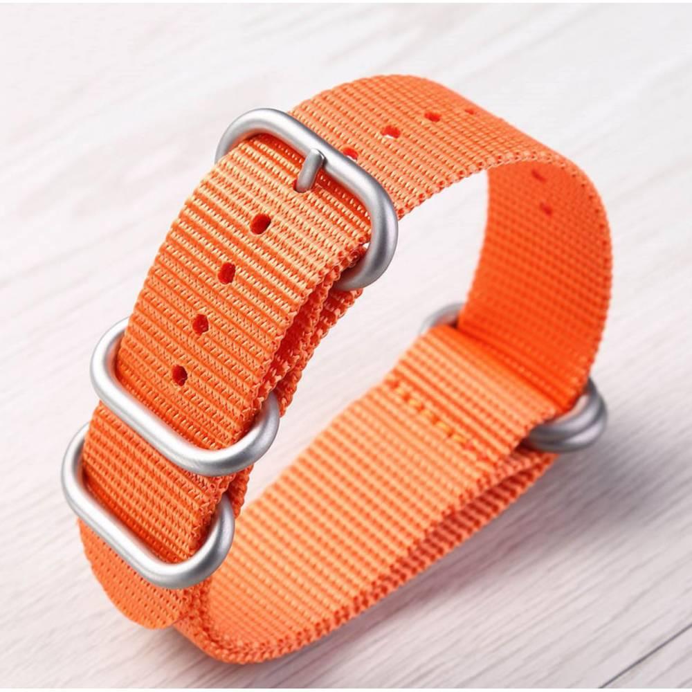 """Ремешок для часов """"FHD"""", оранжевый 8740"""