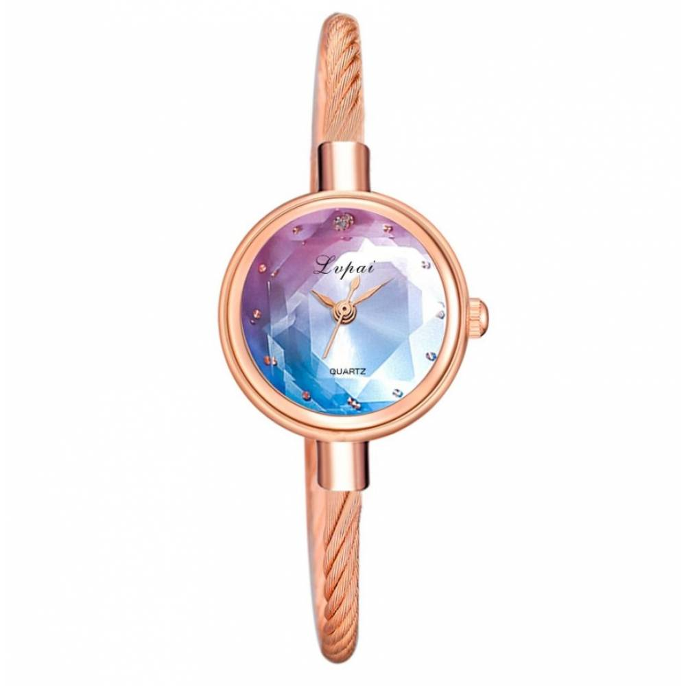 Женские Часы наручные, золотистые 8812