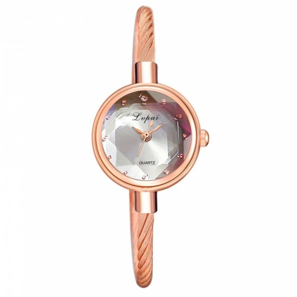 Женские Часы наручные, золотистые 8813