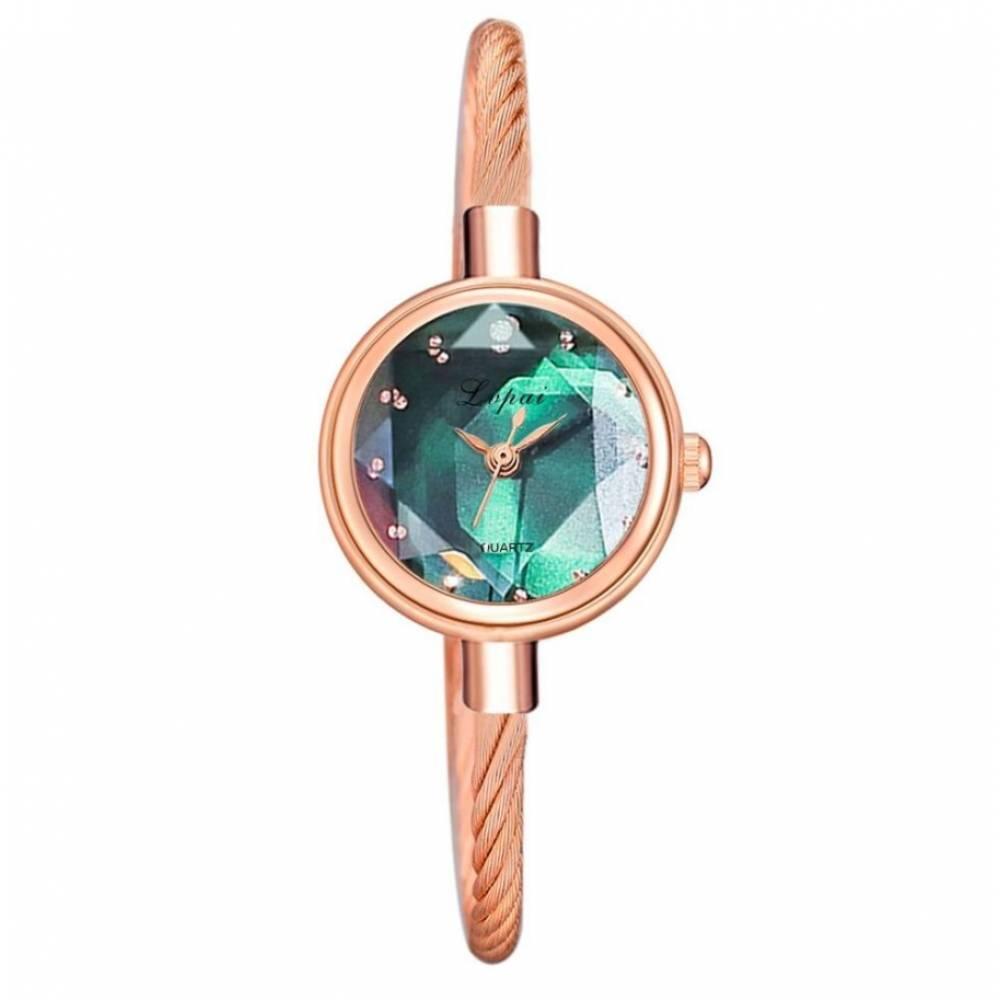 Женские Часы наручные, золотистые 8814