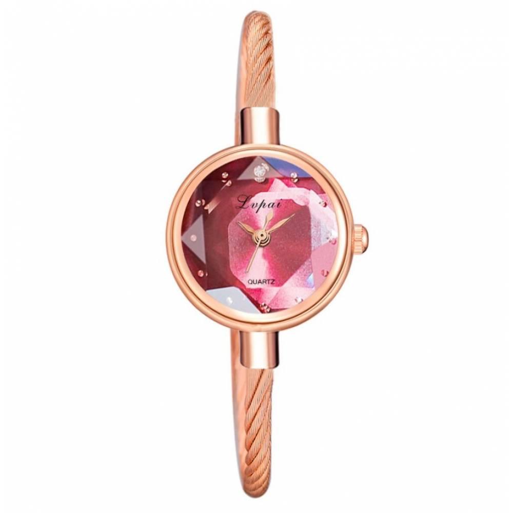 Женские Часы наручные, золотистые 8815