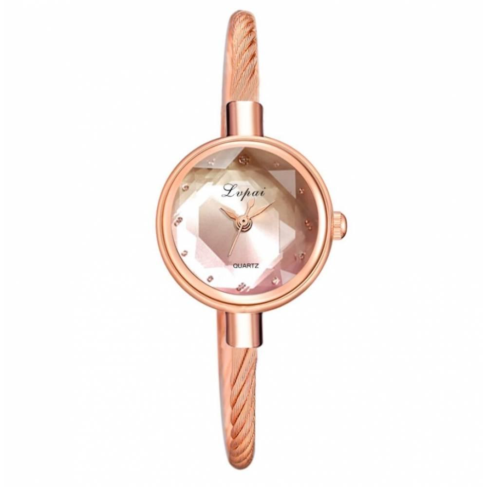 Женские Часы наручные, золотистые 8816