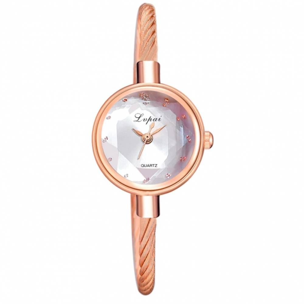 Женские Часы наручные, золотистые 8817