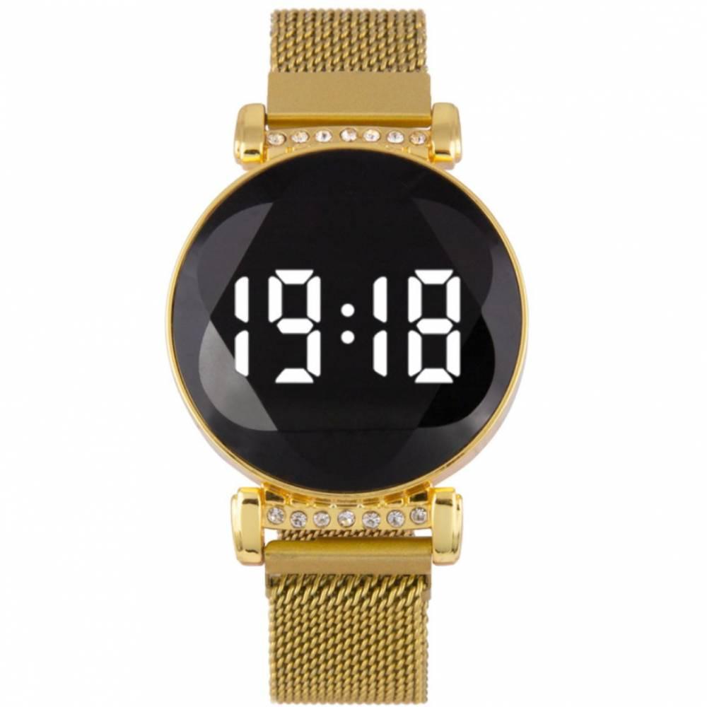 Женские Часы наручные, золотистые 8831