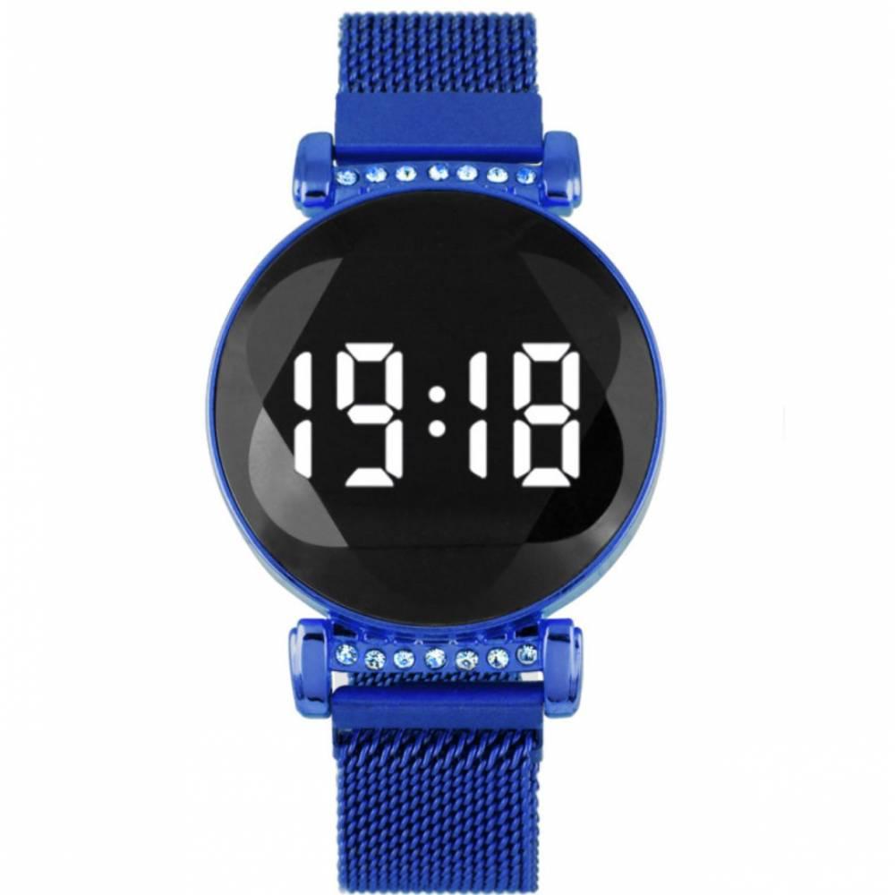 Женские Часы наручные, синие 8833