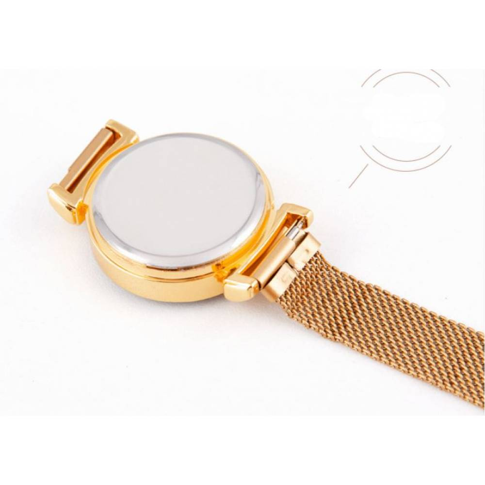 Женские Часы наручные, золотистые 8835