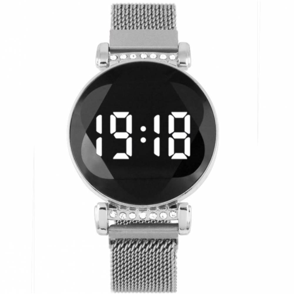 Женские Часы наручные, серебристые 8836