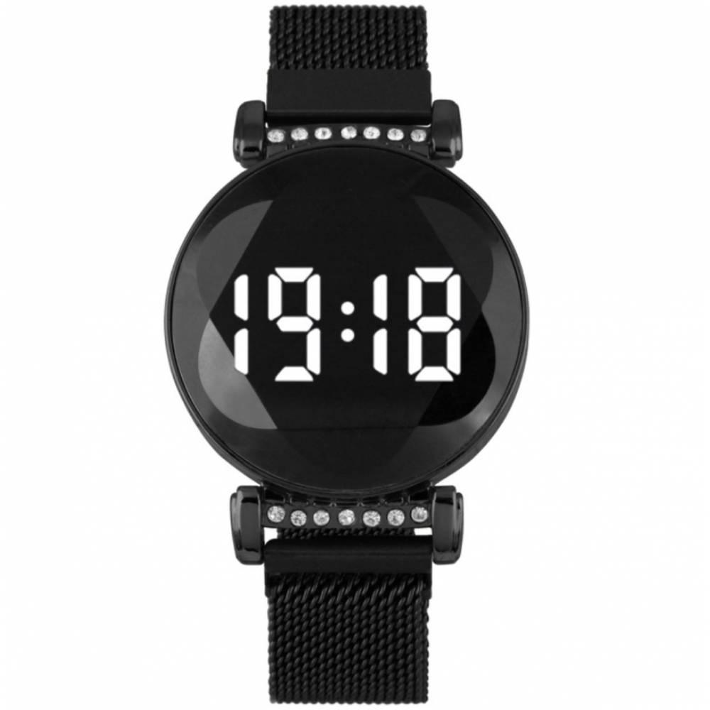 Женские Часы наручные, чорные 8837