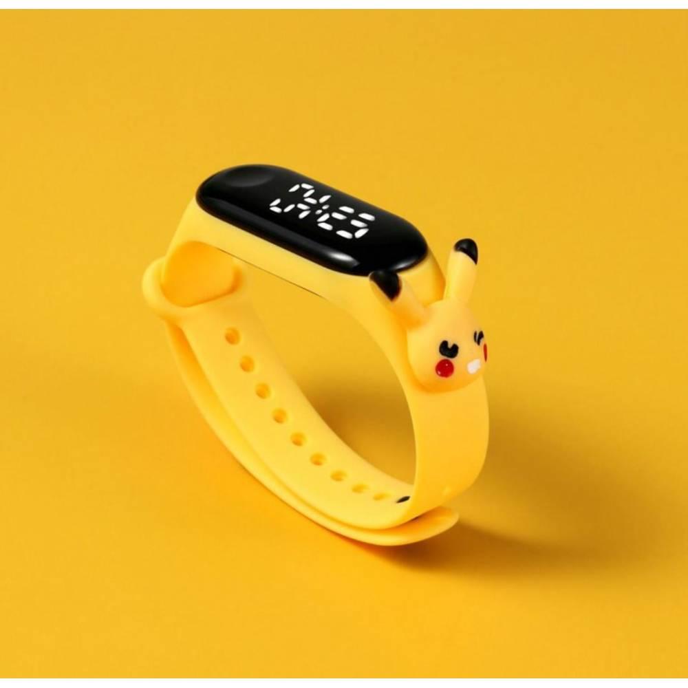 """Детские Часы наручные """"Пикачу покемон"""" 8844"""