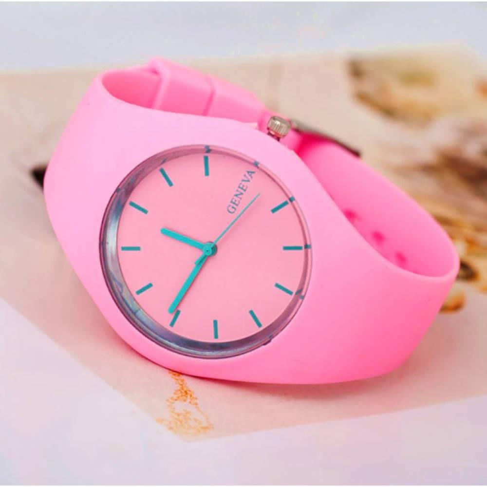 Женские Часы наручные MILER, розовые 9023