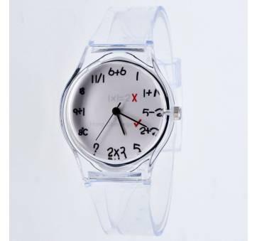 Женские Часы наручные, прозрачные 9041