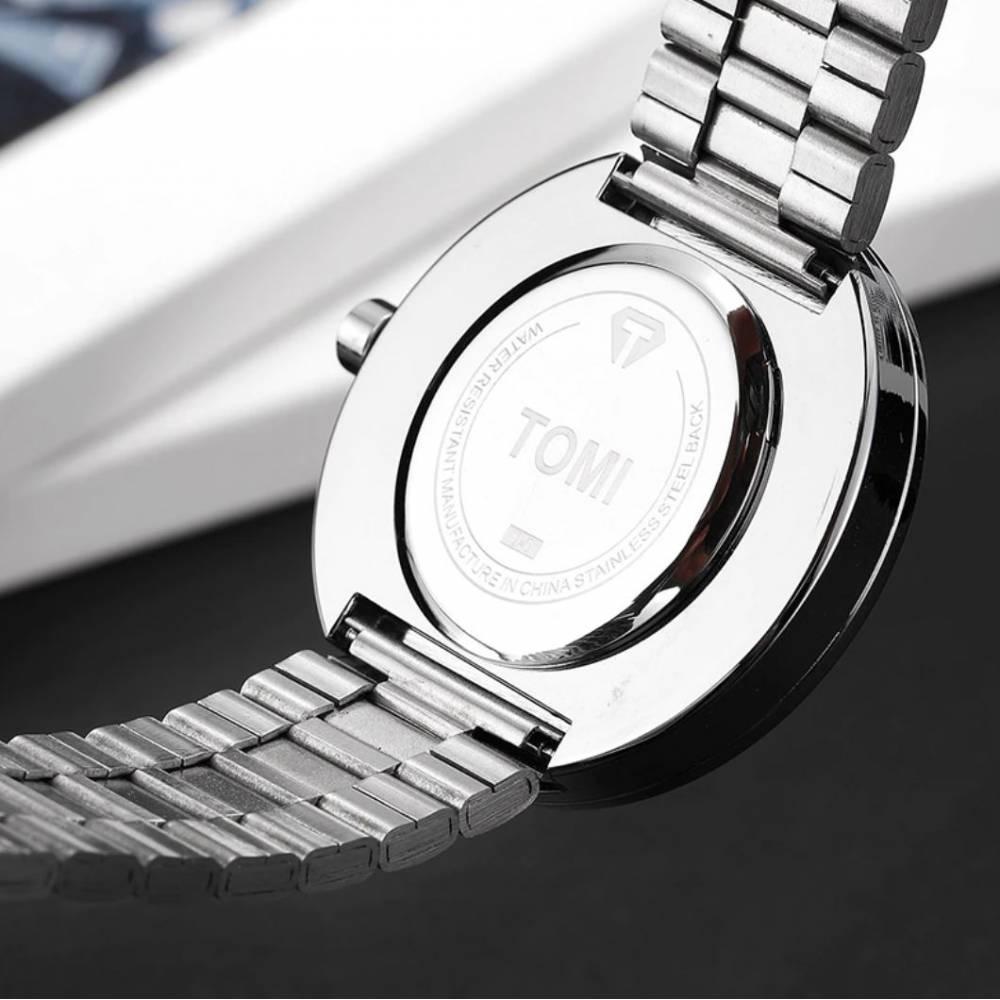 """Мужские Часы наручные """"Tomi"""" + ремешок 9044"""