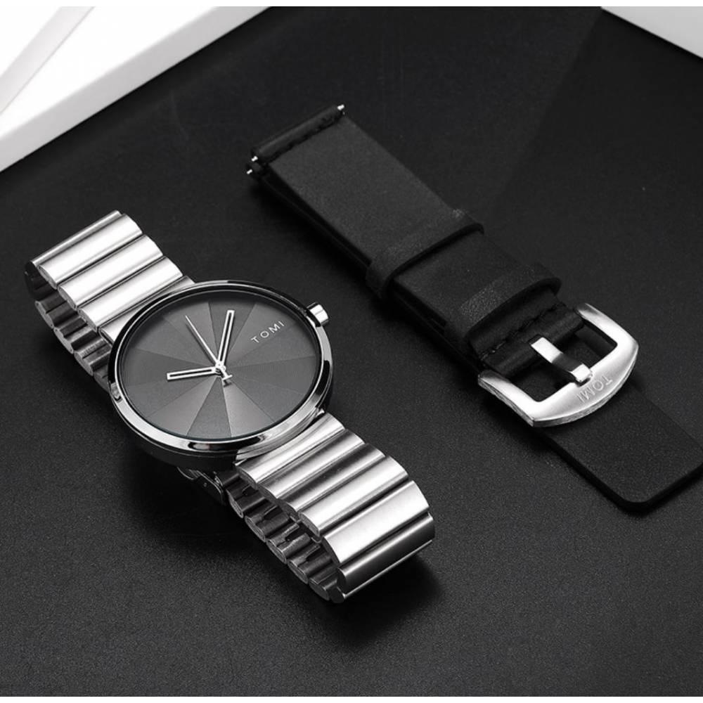 """Мужские Часы наручные """"Tomi"""" + ремешок 9045"""