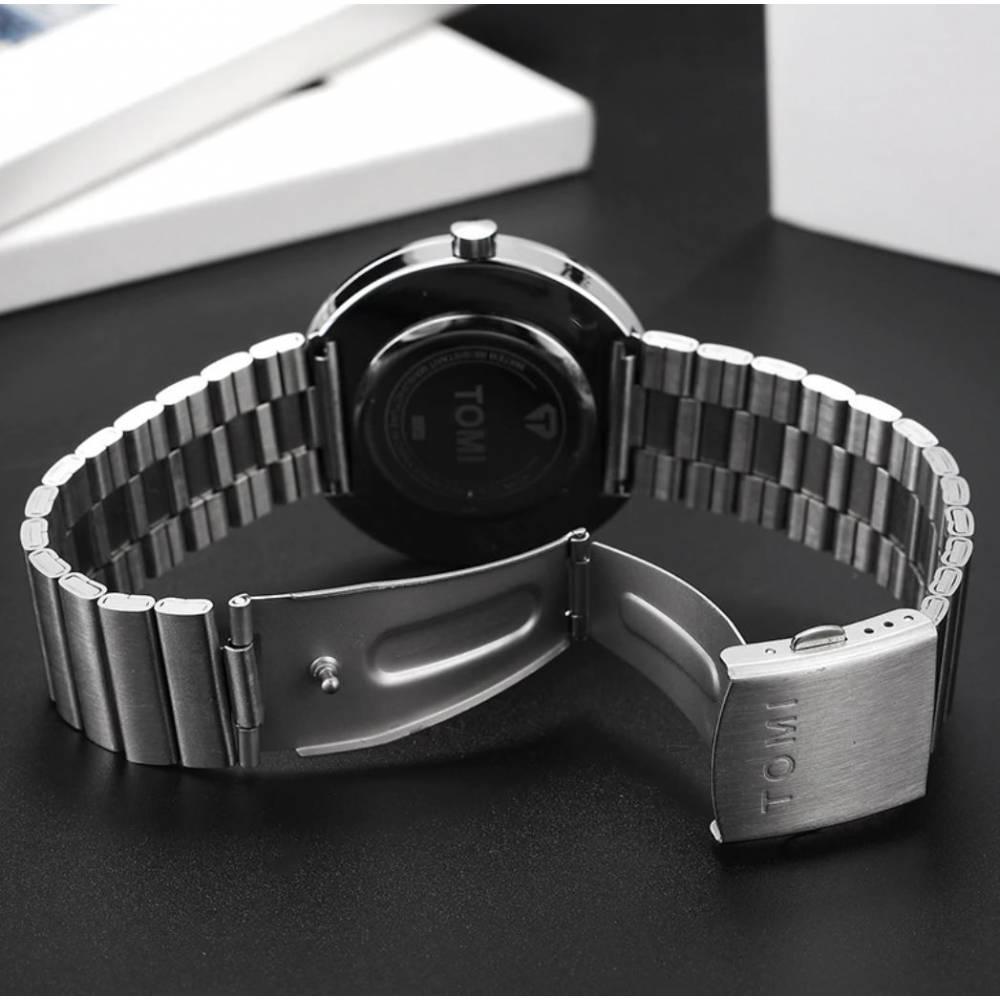 """Мужские Часы наручные """"Tomi"""" + ремешок 9046"""