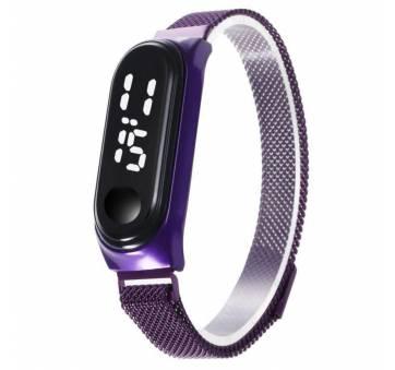 Цифровые Часы наручные с браслетом на магните 9320
