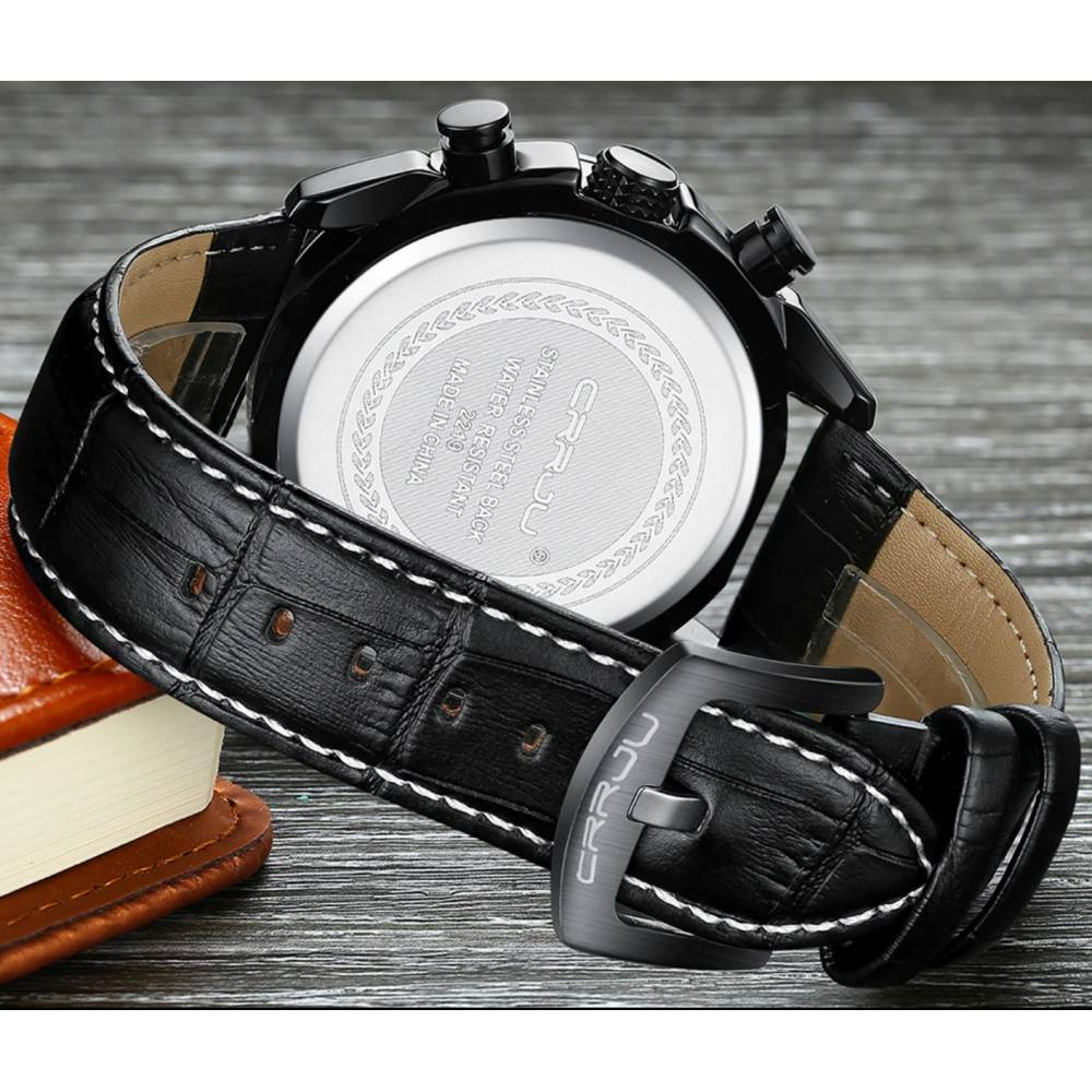 "Мужские Часы наручные ""CRRJU"" 9329"