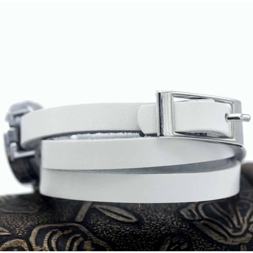 Женские Часы наручные с длинным ремешком, черные 9437
