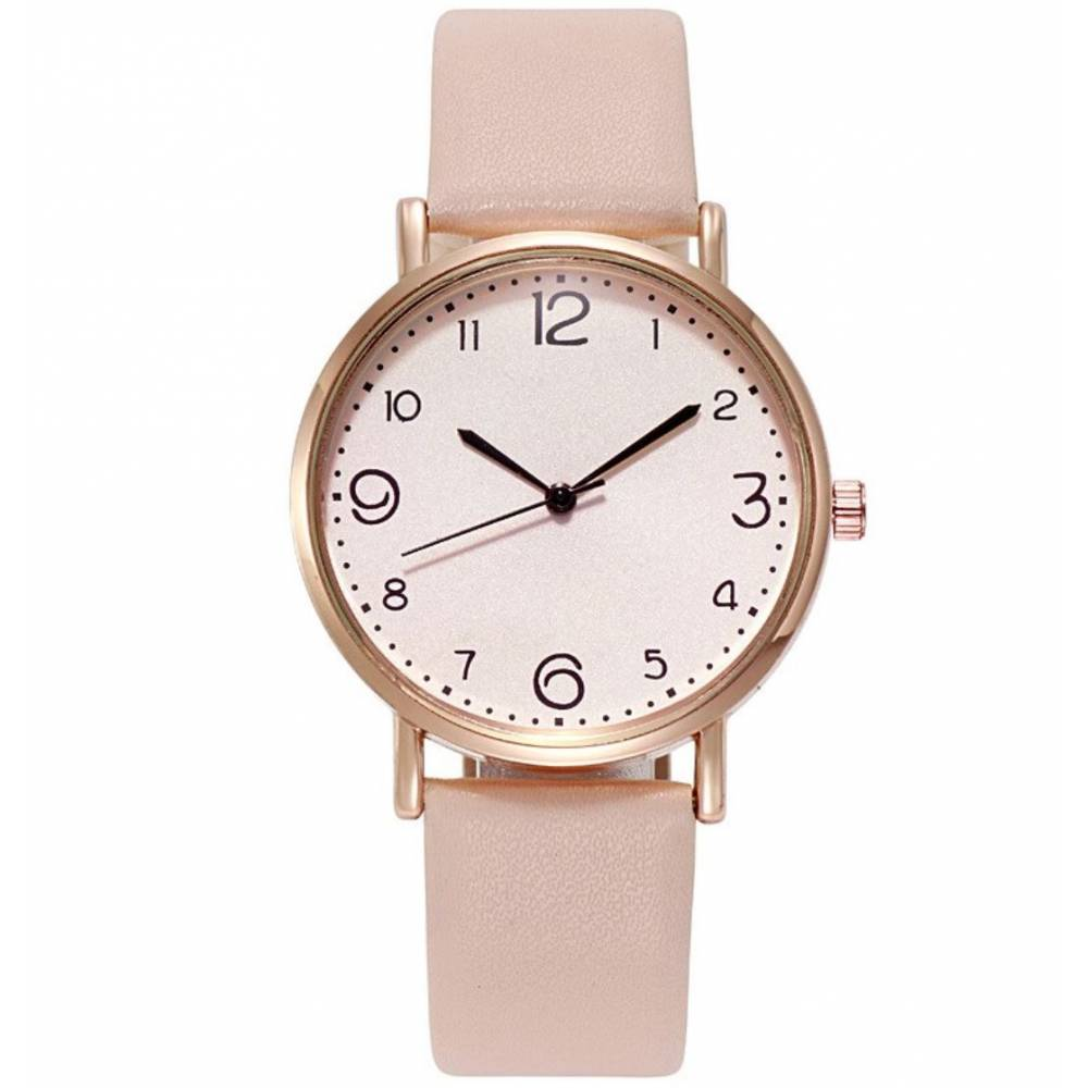 Женские Часы наручные, бежевые 9981