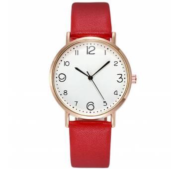 Женские Часы наручные, красные 9983