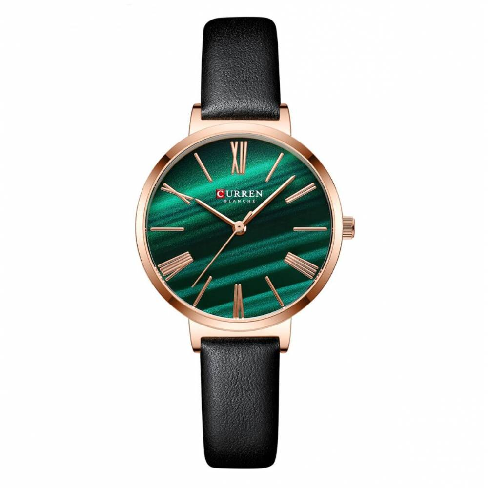 """Женские Часы наручные """"CURREN"""", зеленые 9991"""