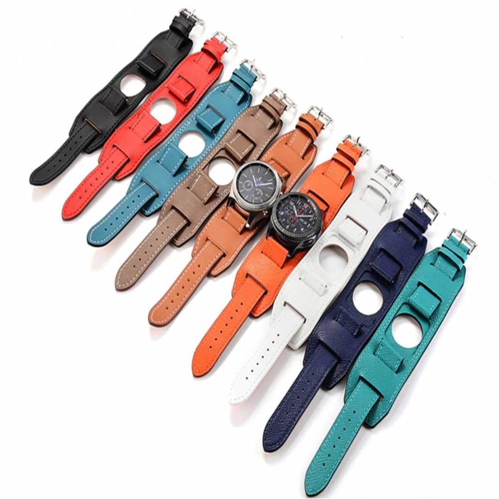 Кожаный ремешок для Samsung Gear S3, galaxy watch 9995