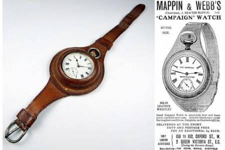 Как появились первые наручные часы? История возникновения хранителей времени