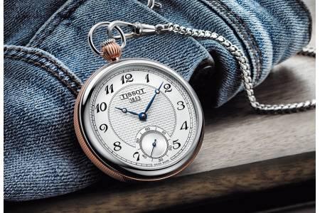 Как правильно носить карманные часы?