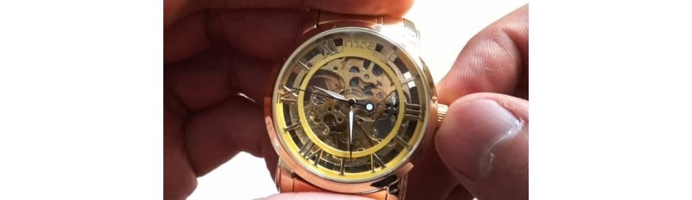 Правила завода механических наручных часов